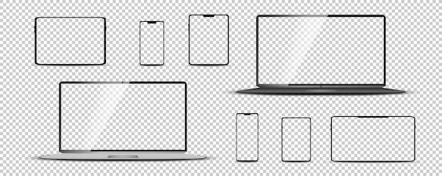 ノートパソコン、タブレット、スマートフォンを監視する