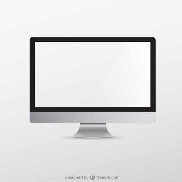 computer vectors photos and psd files free download rh freepik com computer screen icon vector desktop computer icon vector