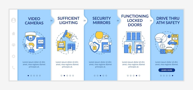Monitoring safety of people onboarding app mobile template