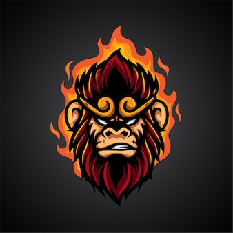 Monkey king e sport 로고