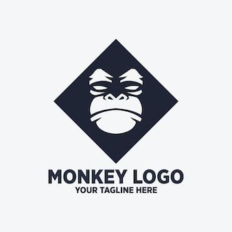원숭이 로고 디자인