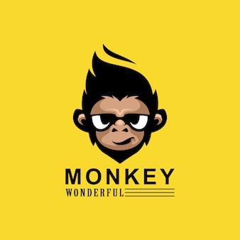 원숭이 로고