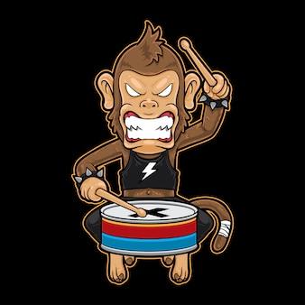 Металлический ударник monkey metal crash