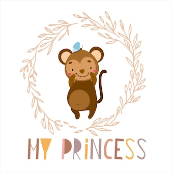 Monkey my princess