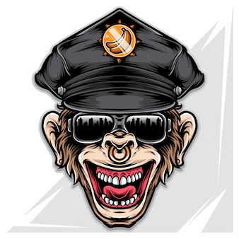 Monkey officer