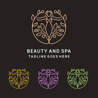 Mono line beauty and spa