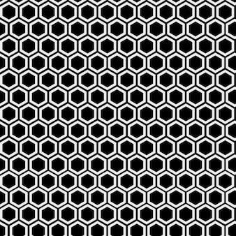 Monochromatic hive pattern