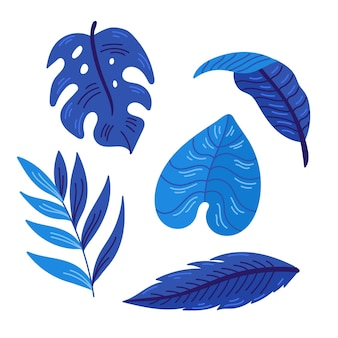 Monochromatic tropical leaves
