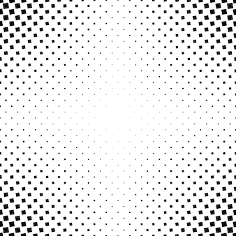 Monochrome abstract square pattern background - black and white geometric vector graphic from angular squares