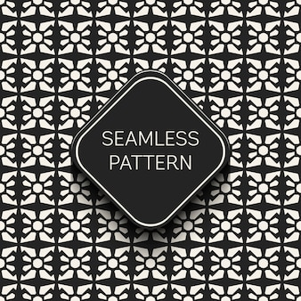 Monochrome geometric pattern background