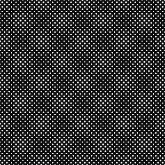 モノクロの幾何学的なドットパターン
