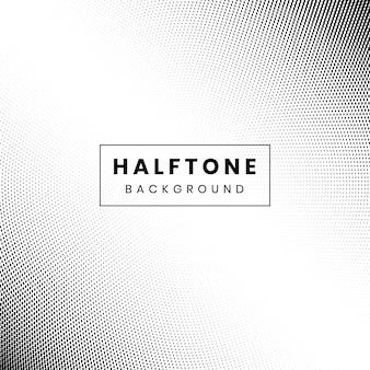 Monochrome gradiant pattern halftone