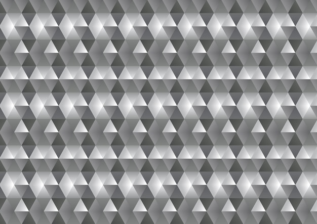 Monochrome low poly abstract background