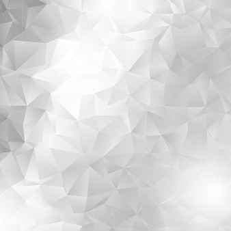 Monochrome low poly design