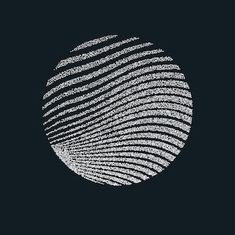 Monochrome printing raster. abstract vector background. black and white texture of dots.