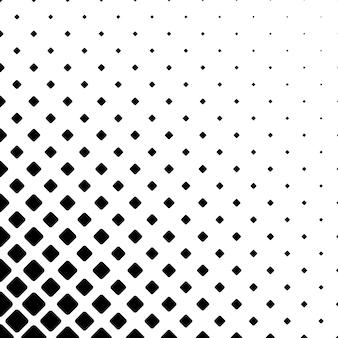 Монохромный фон с квадратным фоном - геометрическая векторная иллюстрация
