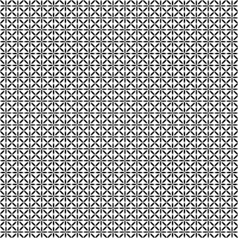 Monochrome star pattern - vector background graphic