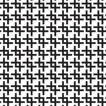 Monochrome trellis seamless pattern