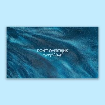 水のデスクトップの壁紙の単色の青い染料