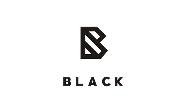 로고 용 모노그램 b / 이니셜 b