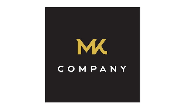 Premium Vector Vintage King Crown Letter K M Or Km Mk Monogram Logo