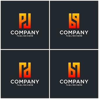 Логотип монограмма