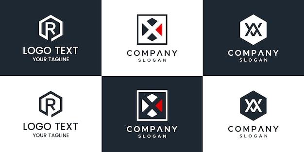 모노그램 세트 로고