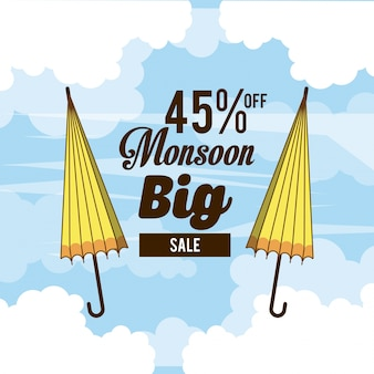 Monsoon big sales