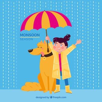 История сезона муссонов