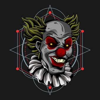 Monster clown
