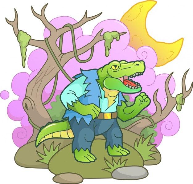 Крокодил-монстр