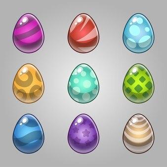 Set di uova di mostro