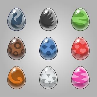 Набор яиц монстра