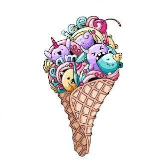 Monster ice cream.