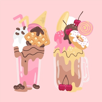 Monster shakes draw
