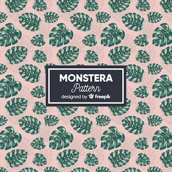 Monstera pattern
