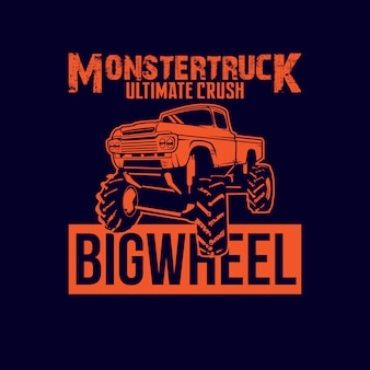 Monstertuck car