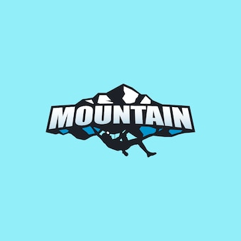 Montain logo design