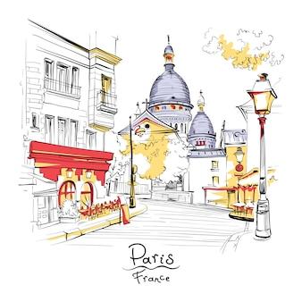 フランス、パリのモンマルトル