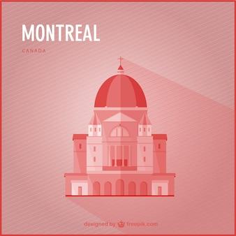 Montreal punto di riferimento vettore