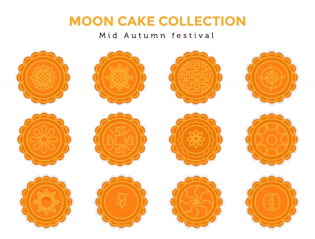 Moon cake mid autumn collection set