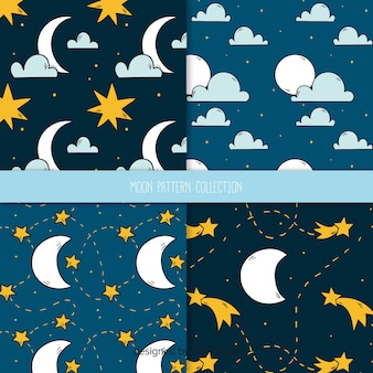 Moon pattern collection
