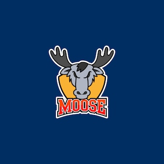 Moose logo ready to use