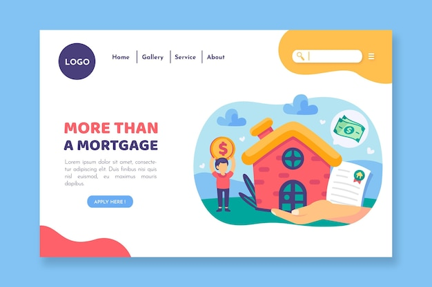 More than amortgage landing page