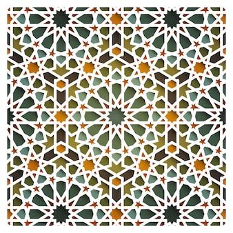 モロッコの東洋のシームレスパターン