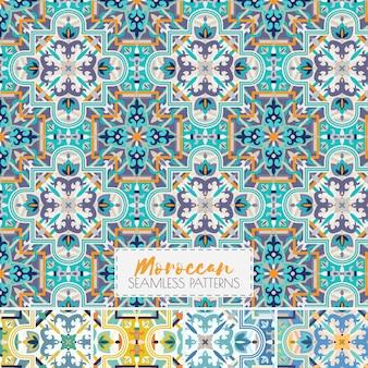 モロッコシームレスパターン