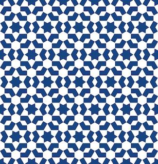 モロッコスタイルのモザイク模様