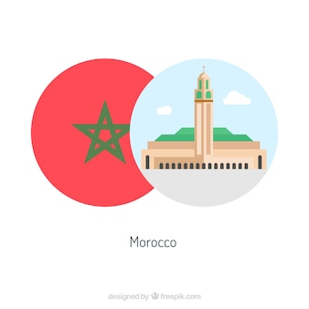 Morocco culture retro elements