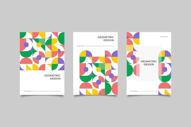 Мозаика бизнес обложка геометрический дизайн