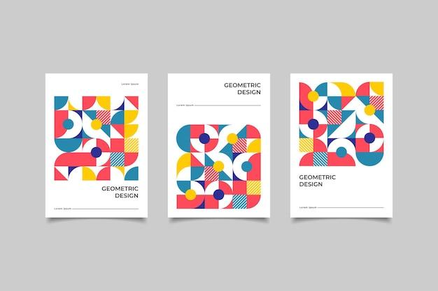 Мозаика бизнес обложка ретро
